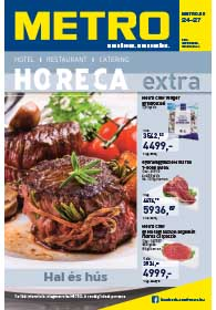 Metro HORECA Extra katalógus 2018. 11.07-12.31