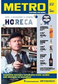 Metro HORECA katalógus 2018. 11.07-12.04