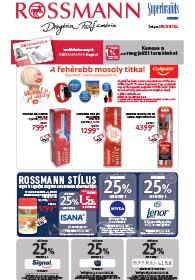 Rossmann akciós újság 2018. 11.19-11.23