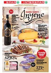 Spar Ínyenc akciós újság 2018. 11.29-12.24