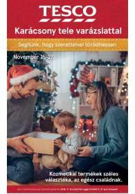 Tesco karácsony 2018. 11.15-11.27