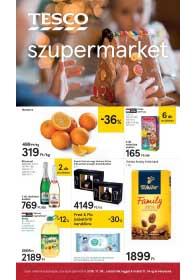 Tesco szupermarket akciós újság 2018. 11.08-11.14