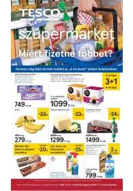 Tesco szupermarket akciós újság 2018. 11.15-11.21