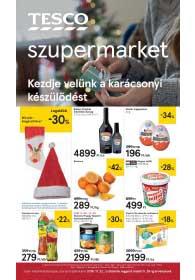 Tesco szupermarket akciós újság 2018. 11.22-11.28