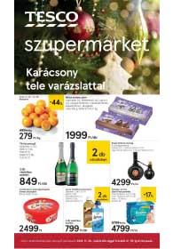 Tesco szupermarket akciós újság 2018. 11.29-12.05