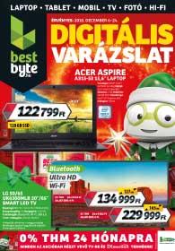 BestByte akciós újság 2018. 12.06-12.24