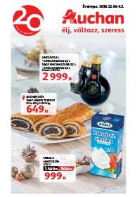 Auchan akciós újság 2018. 12.06-12.12