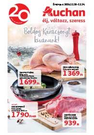 Auchan akciós újság 2018. 12.20-12.24
