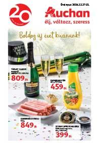 Auchan akciós újság 2018. 12.27-12.31