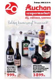 Auchan Szupermarket akciós újság 2018. 12.13-12.24
