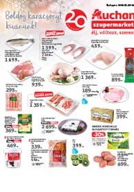 Auchan Szupermarket akciós újság 2018. 12.20-12.24