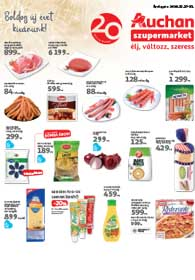 Auchan Szupermarket akciós újság 2018. 12.27-12.31