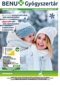BENU akciós újság 2018. 12.01-12.31