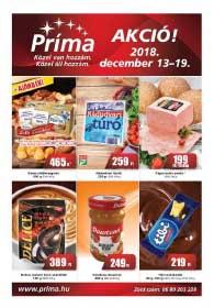 CBA Príma akciós újság 2018. 12.13-12.19