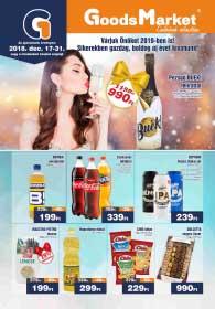 Goods Market akciós újság 2018. 12.17-12.31