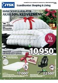 JYSK akciós újság 2018. 12.06-12.19