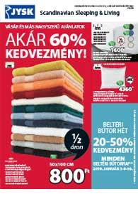 JYSK akciós újság 2018.12.25-2019.01.16