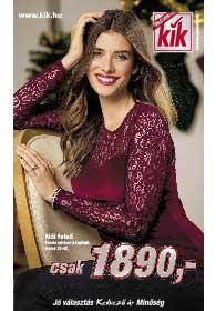 Kik textil akciós újság 2018. 12.12-től