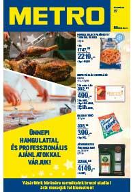 Metro Élelmiszer és Szezonális katalógus 2018. 12.19-12.31