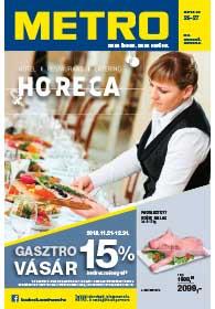 Metro HORECA katalógus 2018. 12.05-12.31