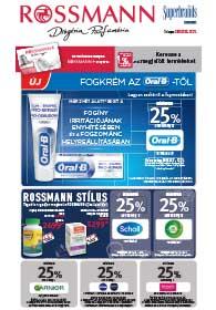 Rossmann akciós újság 2018. 12.17-12.21
