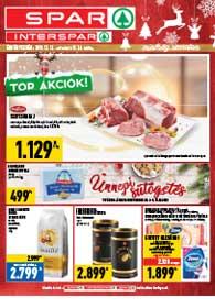 Spar akciós újság 2018. 12.13-12.24