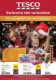 Tesco karácsonyi katalógus 2018. 12.07-12.24
