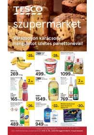 Tesco szupermarket akciós újság 2018. 12.06-12.12