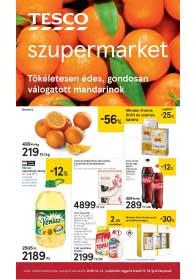 Tesco szupermarket akciós újság 2018. 12.13-12.18