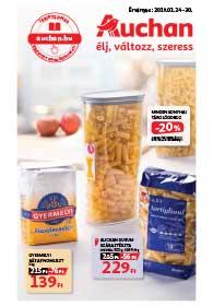 Auchan akciós újság 2019. 01.24-01.30