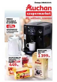 Auchan Szupermarket akciós újság 2019. 01.03-01.09
