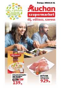 Auchan Szupermarket akciós újság 2019. 01.10-01.16