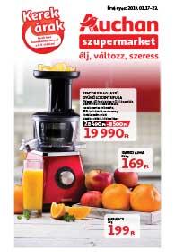 Auchan Szupermarket akciós újság 2019. 01.17-01.23