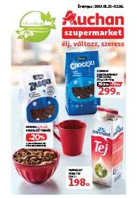 Auchan Szupermarket akciós újság 2019. 01.31-02.06