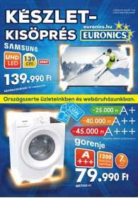 Euronics akciós újság 2019. 01.08-01.14