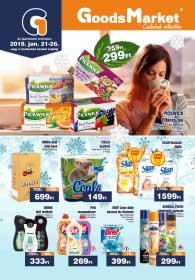 Goods Market akciós újság 2019. 01.21-01.26