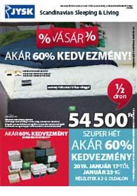 JYSK akciós újság 2019. 01.17-01.30