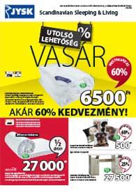 JYSK akciós újság 2019. 01.24-02.06