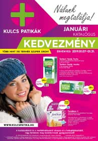 Kulcs patika akciós újság 2019. 01.07-01.31
