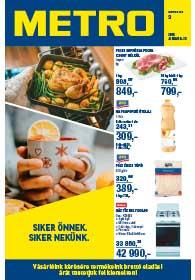 Metro Élelmiszer és Szezonális katalógus 2019. 01.09-01.22