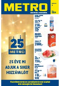Metro Élelmiszer és Szezonális katalógus 2019. 01.23-02.05