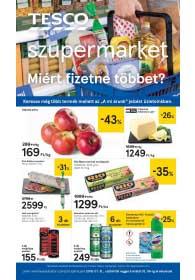 Tesco szupermarket akciós újság 2019. 01.31-02.06
