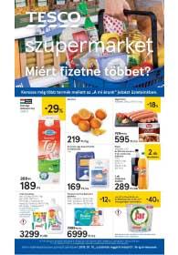 Tesco szupermarket akciós újság 2019. 01.10-01.16