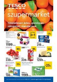Tesco szupermarket akciós újság 2019. 01.17-01.23