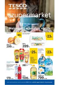 Tesco szupermarket akciós újság 2019. 01.24-01.30