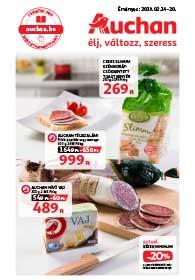 Auchan akciós újság 2019. 02.14-02.20