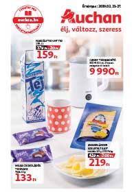 Auchan akciós újság 2019. 02.21-02.27