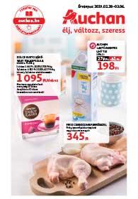 Auchan akciós újság 2019. 02.28-03.06
