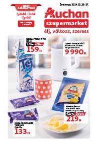 Auchan Szupermarket akciós újság 2019. 02.21-02.27