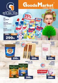 Goods Market akciós újság 2019. 02.18-02.28